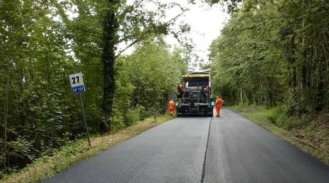lavori strada provincia