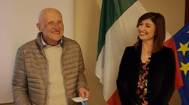 Mario Mencarelli e Elisa Petrucci
