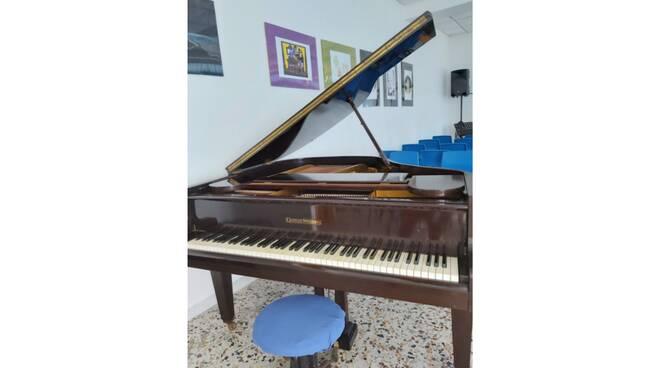 pianoforte donato alla Da vinci