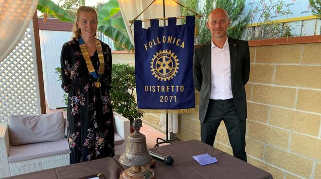 Romina Rosticci e Pietro Gavazzi