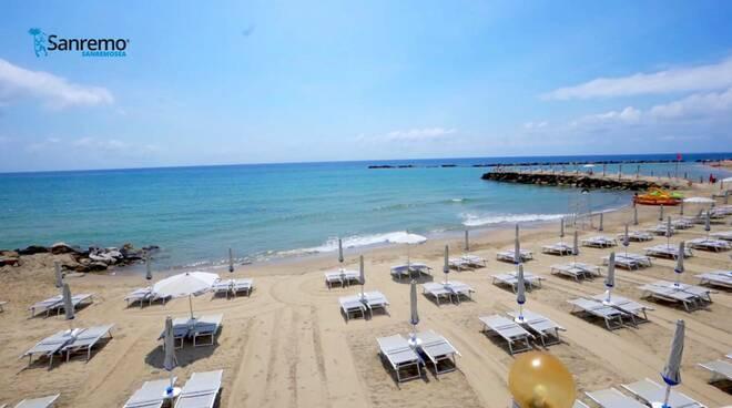 Sanremo (spiaggia proprietà Comune di Sanremo)