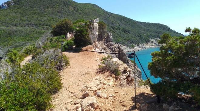 sentieri Giglio - parco arcipelago toscano