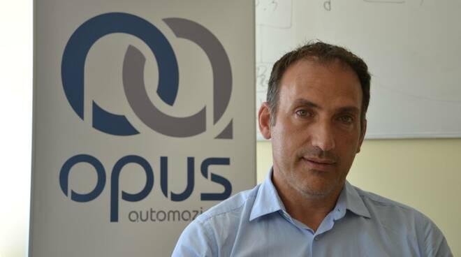 Simone Gabbricci, socio di Opus automazione