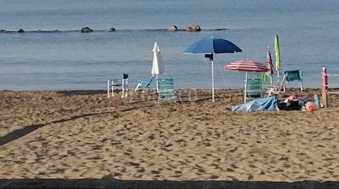 spiaggia libera Castiglione