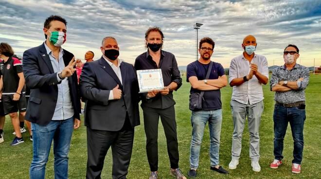 targa per la promozione in Lega Pro