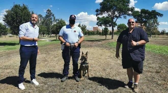 Antonfrancesco Vivarelli Colonna e Fausto Turbanti - polizia municipale - free park