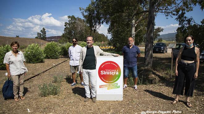 Candidati Toscana a sinistra Regionali 2020