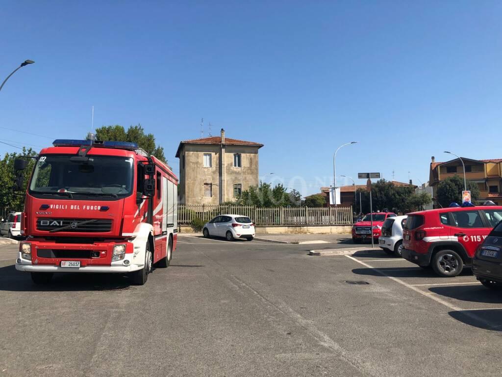 Palazzo evacuato 12 agosto