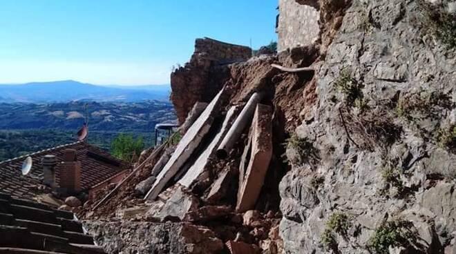 crollo Mura Cana