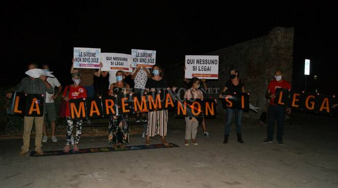 Flash-mob Sardine 27 agosto