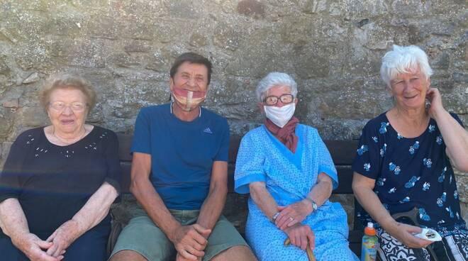 Gianni Morandi in vacanza
