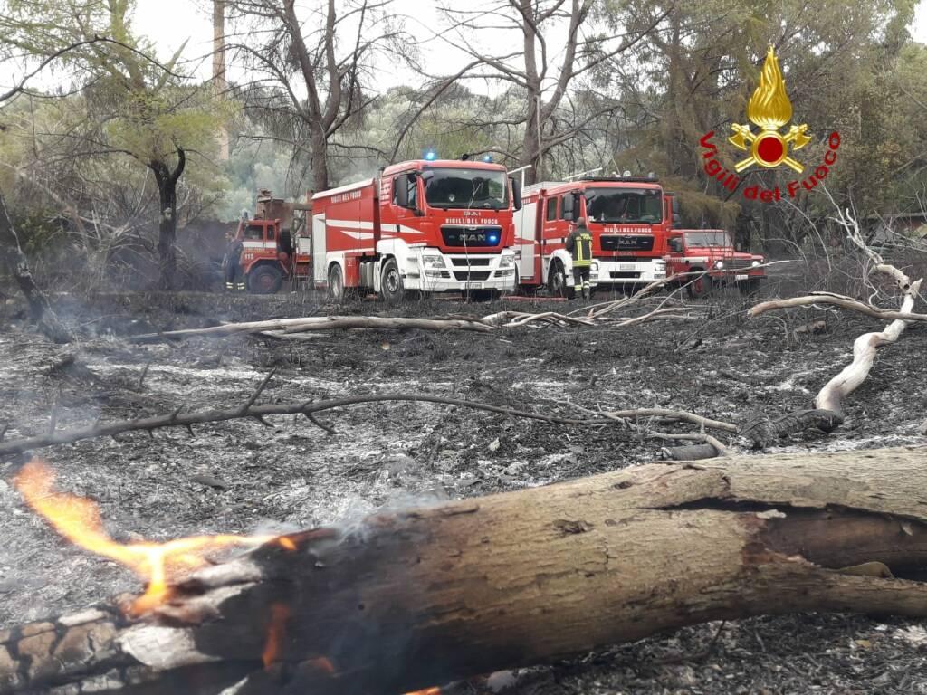 Incendio 4 agosto