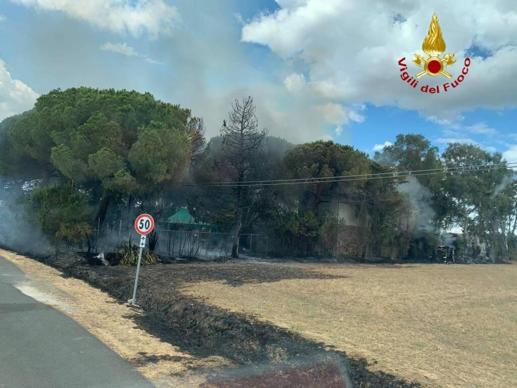 incendio riotorto 5 agosto 2020