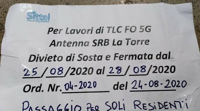 Lavori 5G - Foto di Valerio Lanzillo