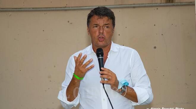 Matteo Renzi a Follonica