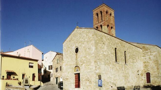 montepescali veduta chiesa s. stefano lorenzo