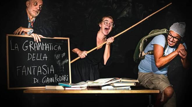 """Topi Dalmata in """"La grammatica della fantasia"""" (foto di Matteo Corridori)"""