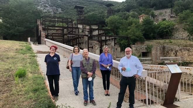 archeologo settis in visita al parco colline metallifere