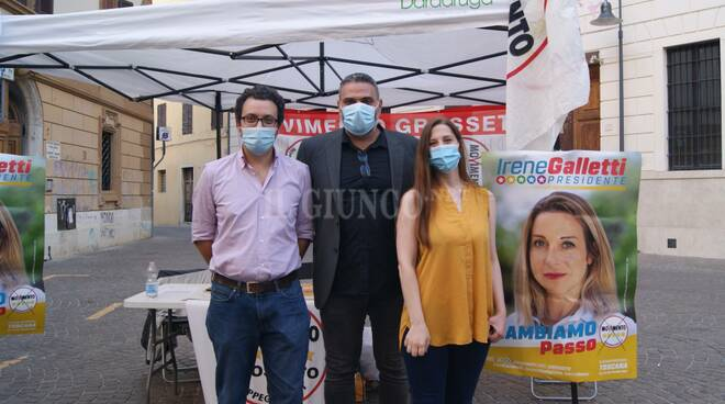 Isacco Bocci, Luca Migliorino e Daniela Castiglione