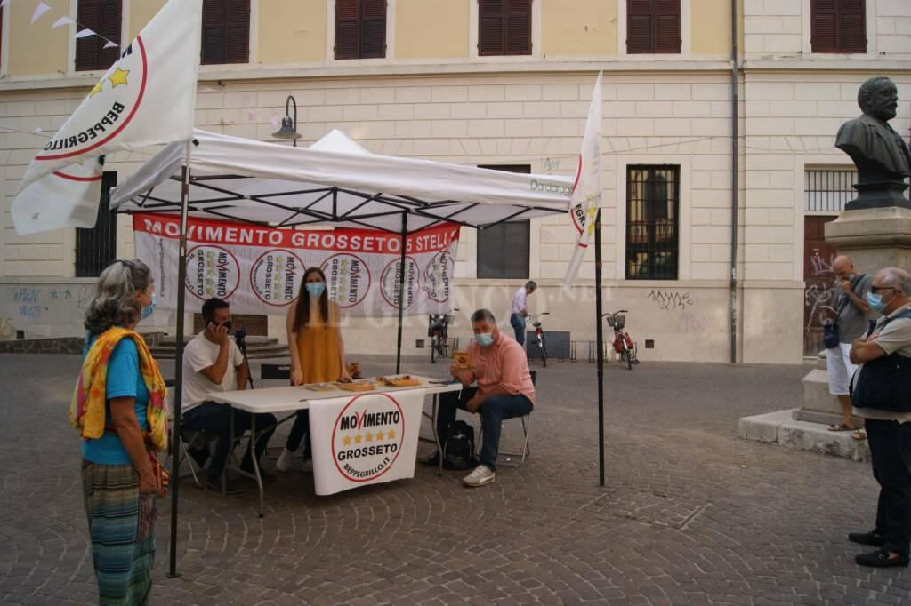 Candidati Movimento 5 Stelle Toscana 2020 e l'onorevole Luca Migliorino