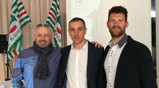 Femca Cisl Emanuele Cascioli Gian Luca Fè Ganni Moretti