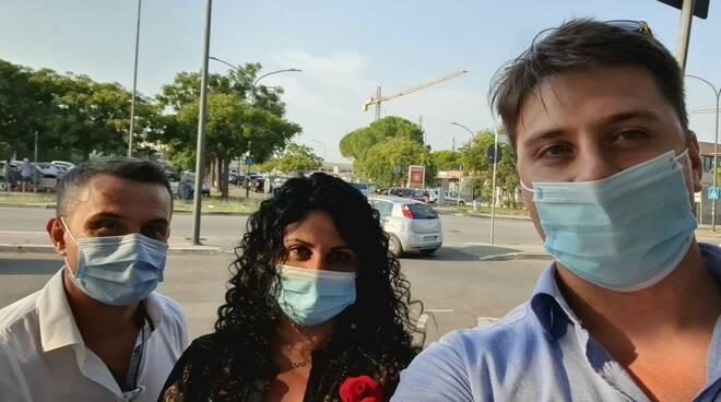 Francesco Limatola, Romina Sani e Giacomo Termine