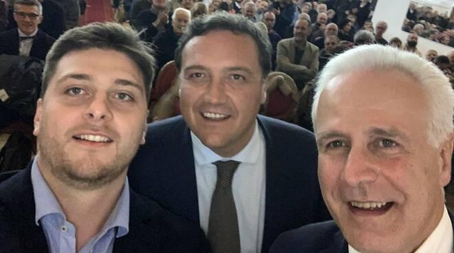 Giacomo Termine, Leonardo Marras e Eugenio Giani