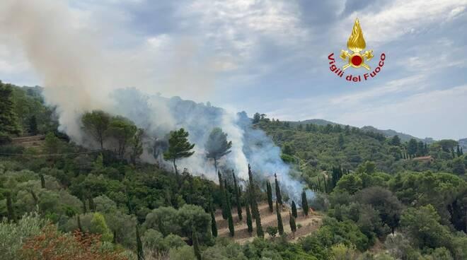 Incendio 19 settembre 2020