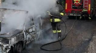 incendio auto 28 sett