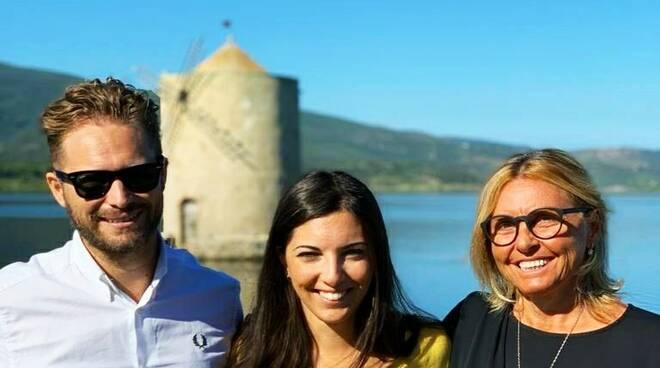 Michele Pianelli, Giulia Andreuccetti e Silvia Magi