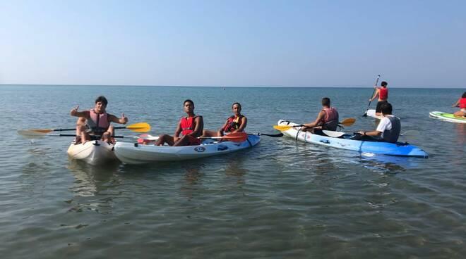 uscite didattiche fossombroni canoa
