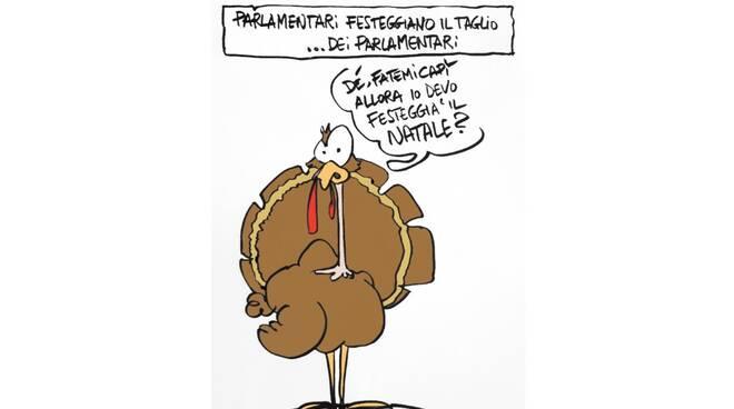 Vignetta tacchini 27 settembre