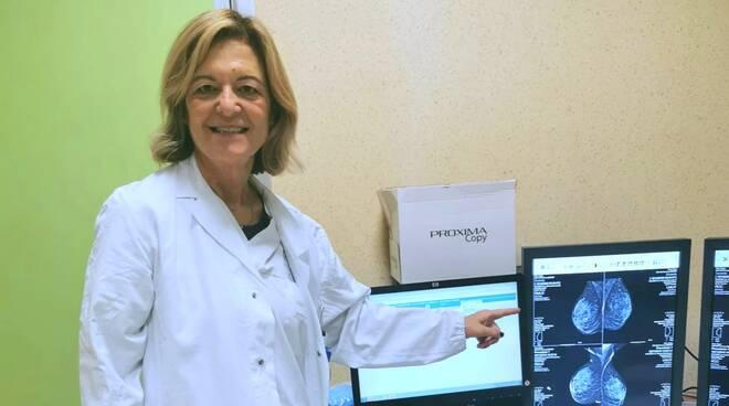 alessandra buonavia mammografia