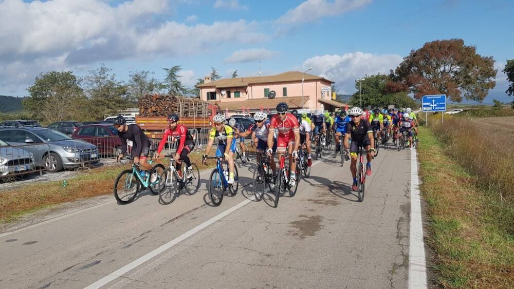 Partenza Trofeo Val Pesa