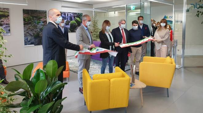 inaugurazione AdF Business Hub