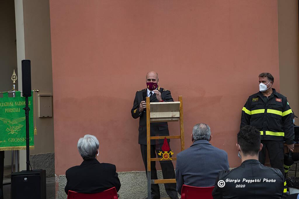 Intitolazione caserma a Claudio Rosati