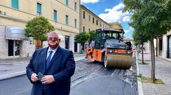 lavori via Oberdan Vivarelli Colonna