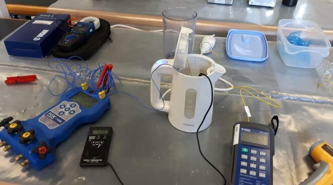Taratura degli strumenti per operare su impianti F-gas