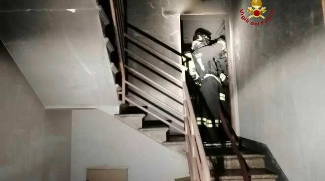 incendio palazzo