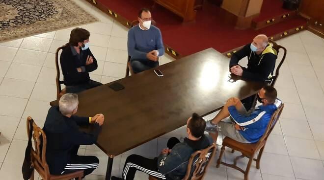 incontro sindaco gestori palestre