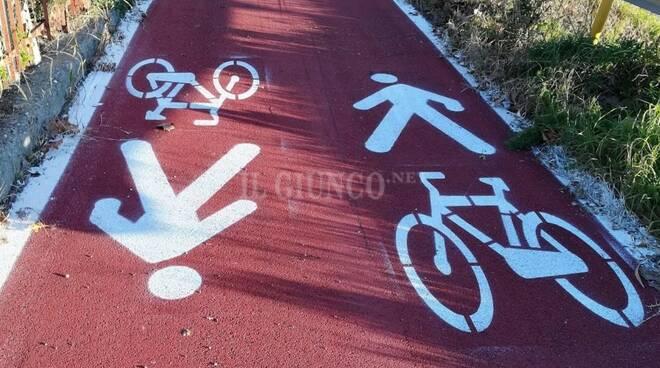 pista ciclabile ciclopedonale ciclopista generica