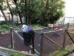 pulizia parco villa varoli