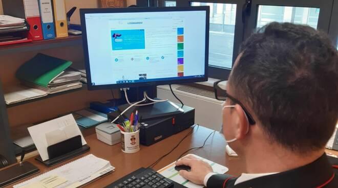 carabinieri informatici web