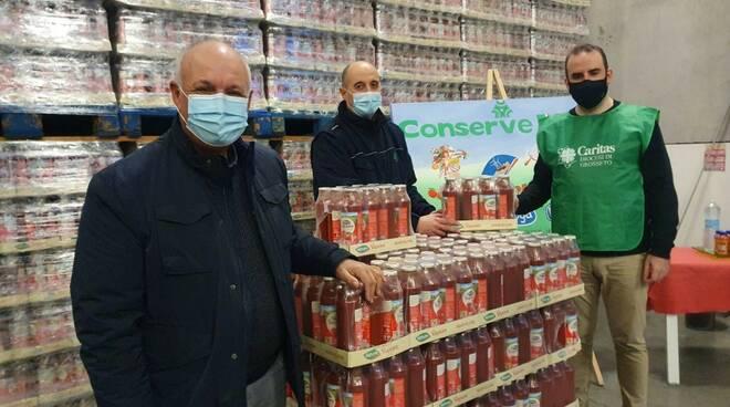donazione conserve italia