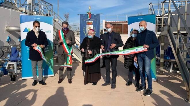 Inaugurazione depuratore Capalbio