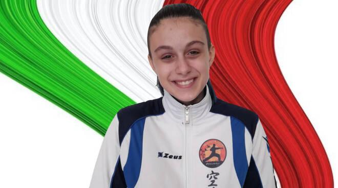Irene Machetti karate