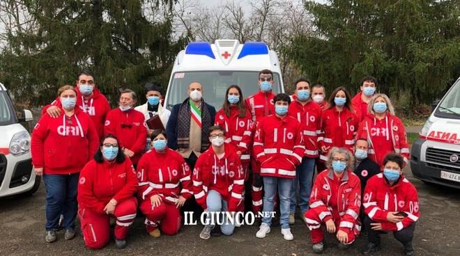 Nuova ambulanza Cri