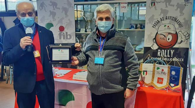 Federbocce Toscana, premio al Circolo Bocciofilo Gr