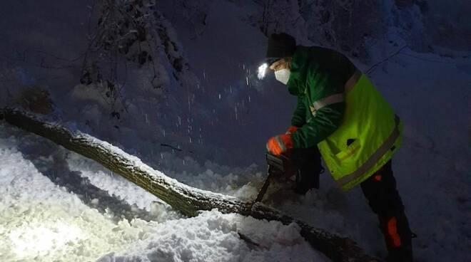 La Recchetta neve