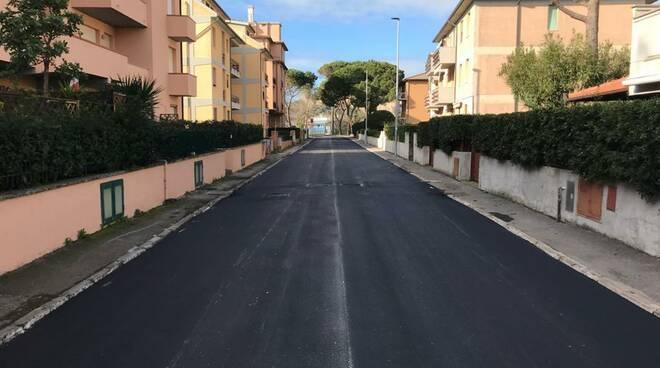 lavori pubblici strade asfalto